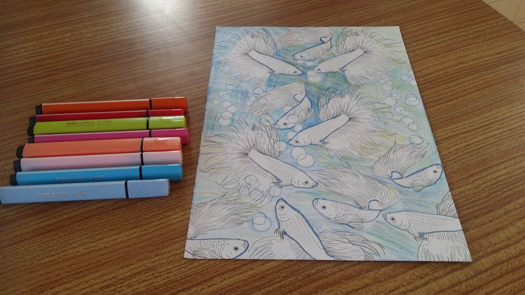 From Large Art Therapy Markers Select Colours