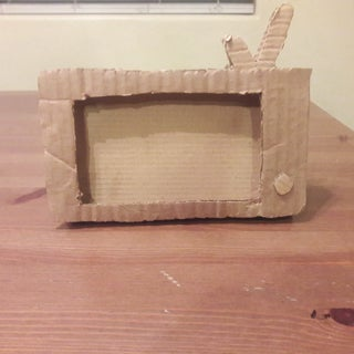 Cardboard Phone Tv