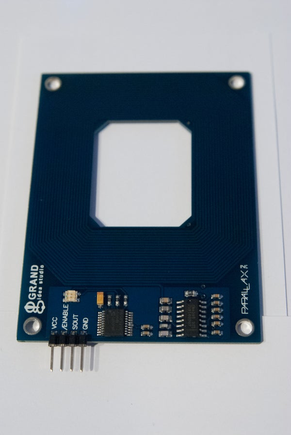 Wiring and Programming the Parallax RFID Serial Card Reader for the Arduino