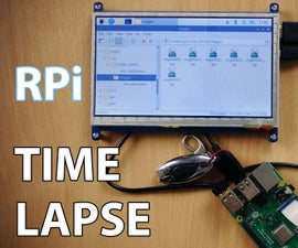 Simple Time Lapse Camera Using the Raspberry Pi