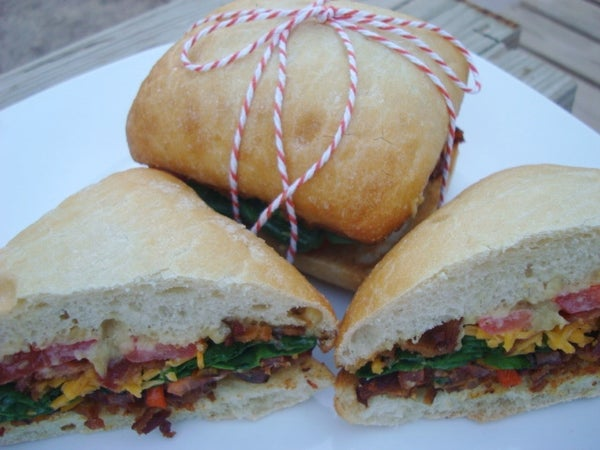 No Ordinary BLT Sandwich!