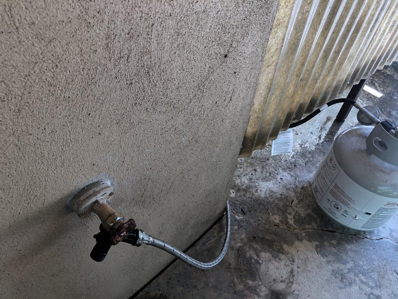 Install Heater/plumbing