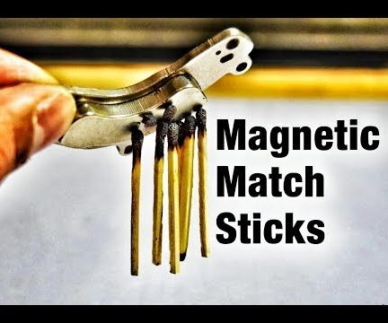 Mindblowing >>> Magnetic Matchstick Trick !