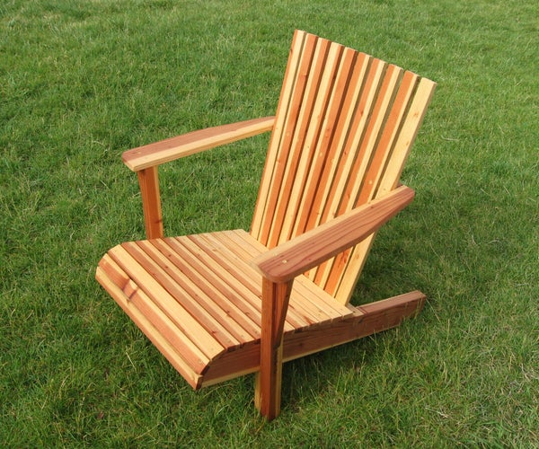 Adirondack Chair From ONE Board