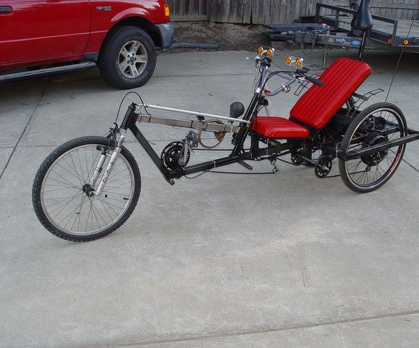 Hub Motor Delta Trike