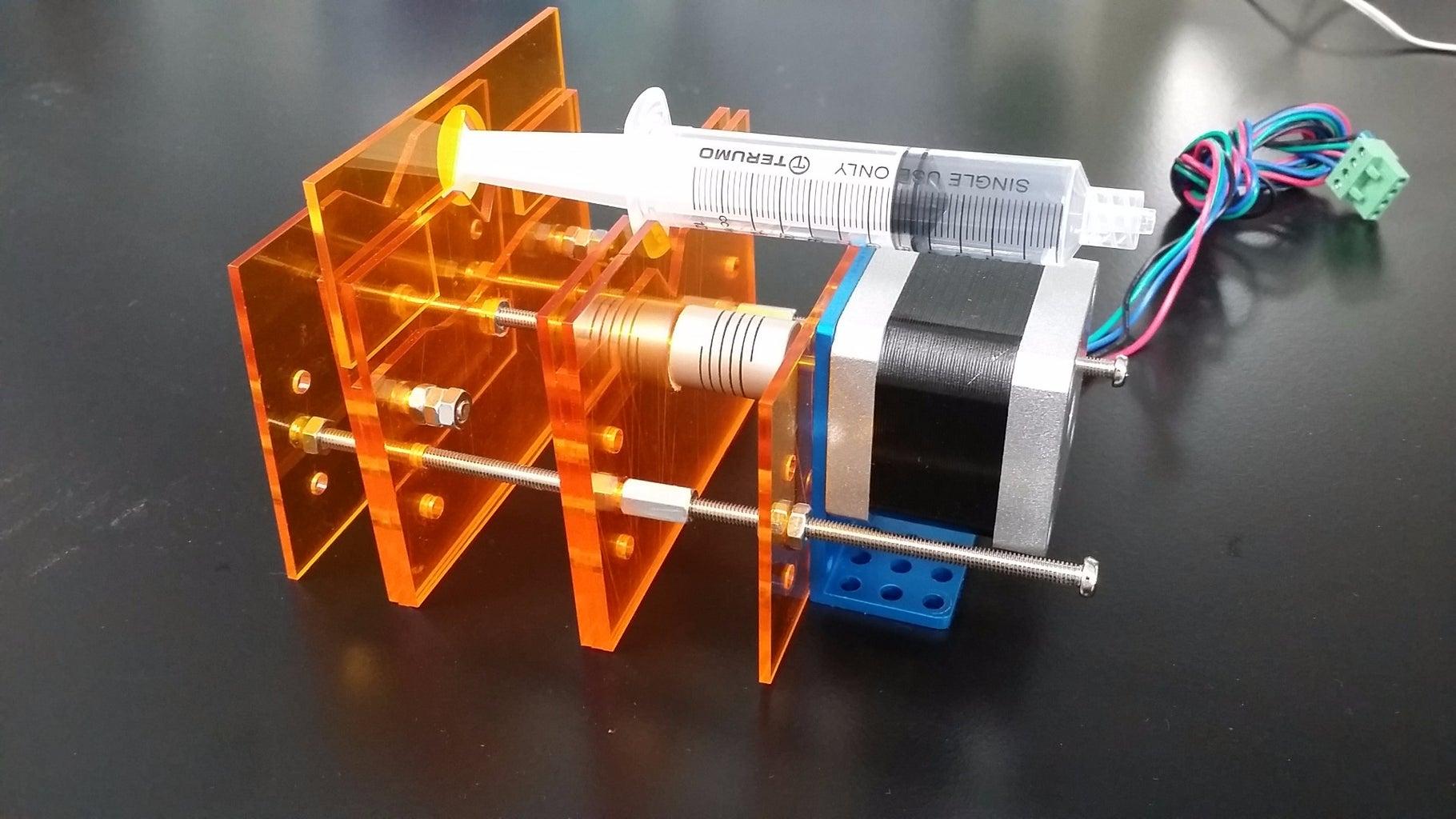 Mounting the Syringe
