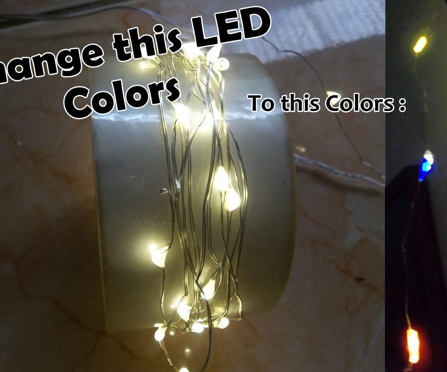 How to change LED color