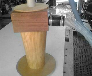 Wooden, Cyclone Seperator Shop Vac