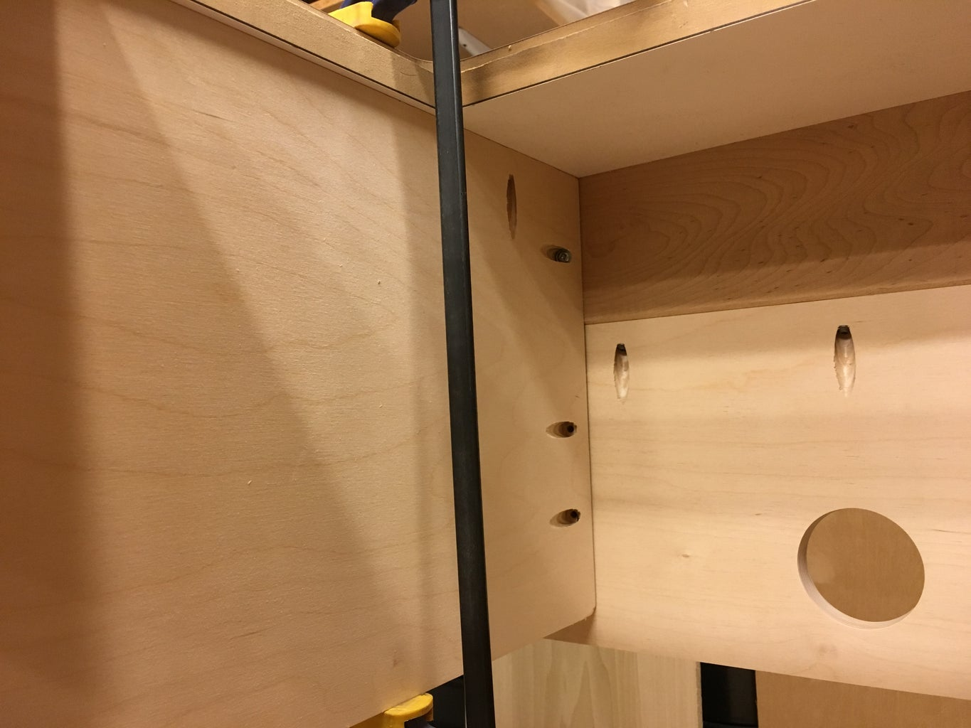 Cut and Install Dividers