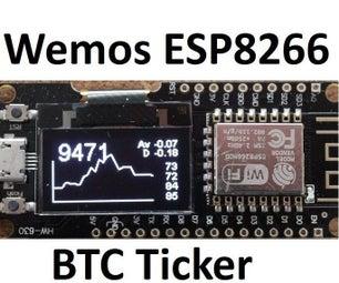 Rekt-O-Matic Turbo S:     Single Board Bitcoin Ticker
