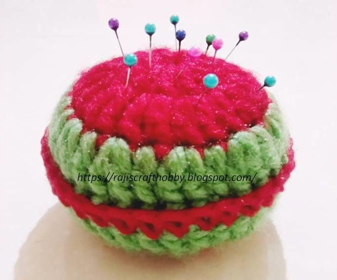 Yummy Watermelon Pincushion