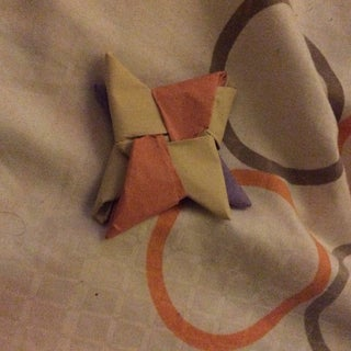 How to Make a Double Sided (heavy) Ninja Star!