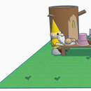 Gnome Party Scene Using TINKERCAD!!