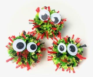 Cute Little Virus POM POMS
