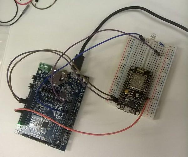 Controlling LED With NodeMCU ESP8266 and Quark D2000 Board