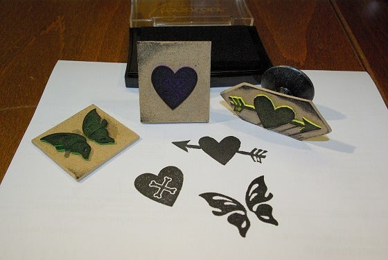 Stamps From Craft Foam.