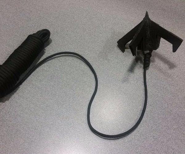 """""""Vigilante Style"""" Grappling Hook"""