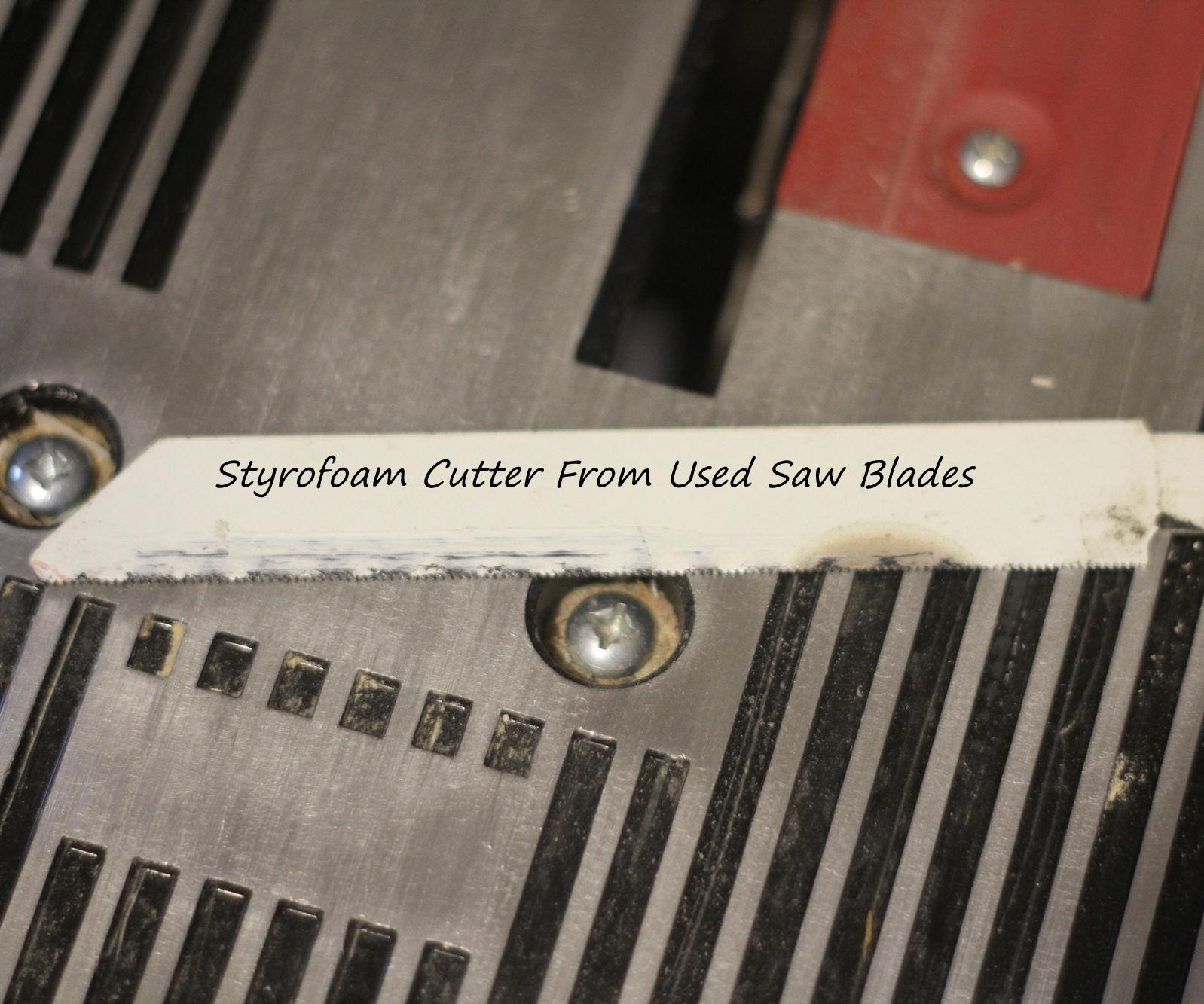 Styrofoam Cutting Blade