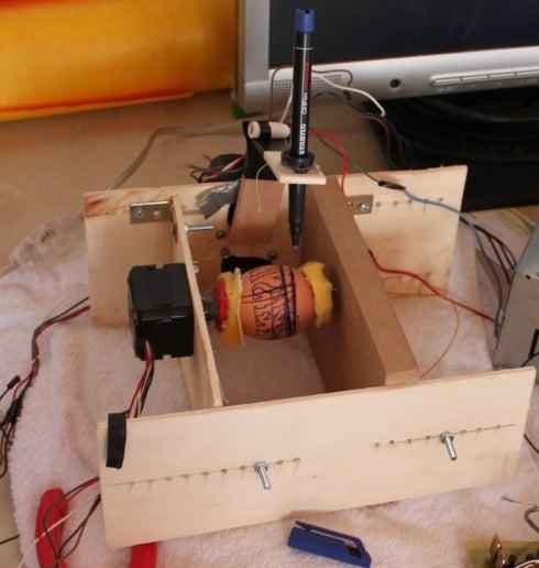 CNC Eggbot