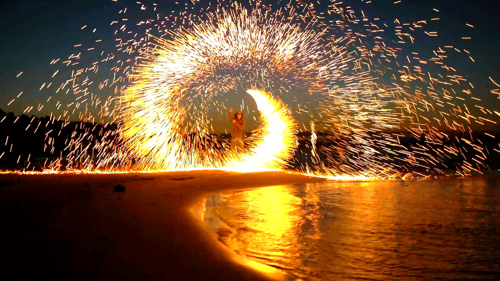 Steel Wool Fireworks - Tips & Tricks