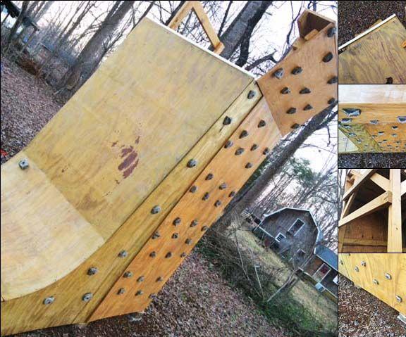 Ramp, Tower, & Climbing Wall
