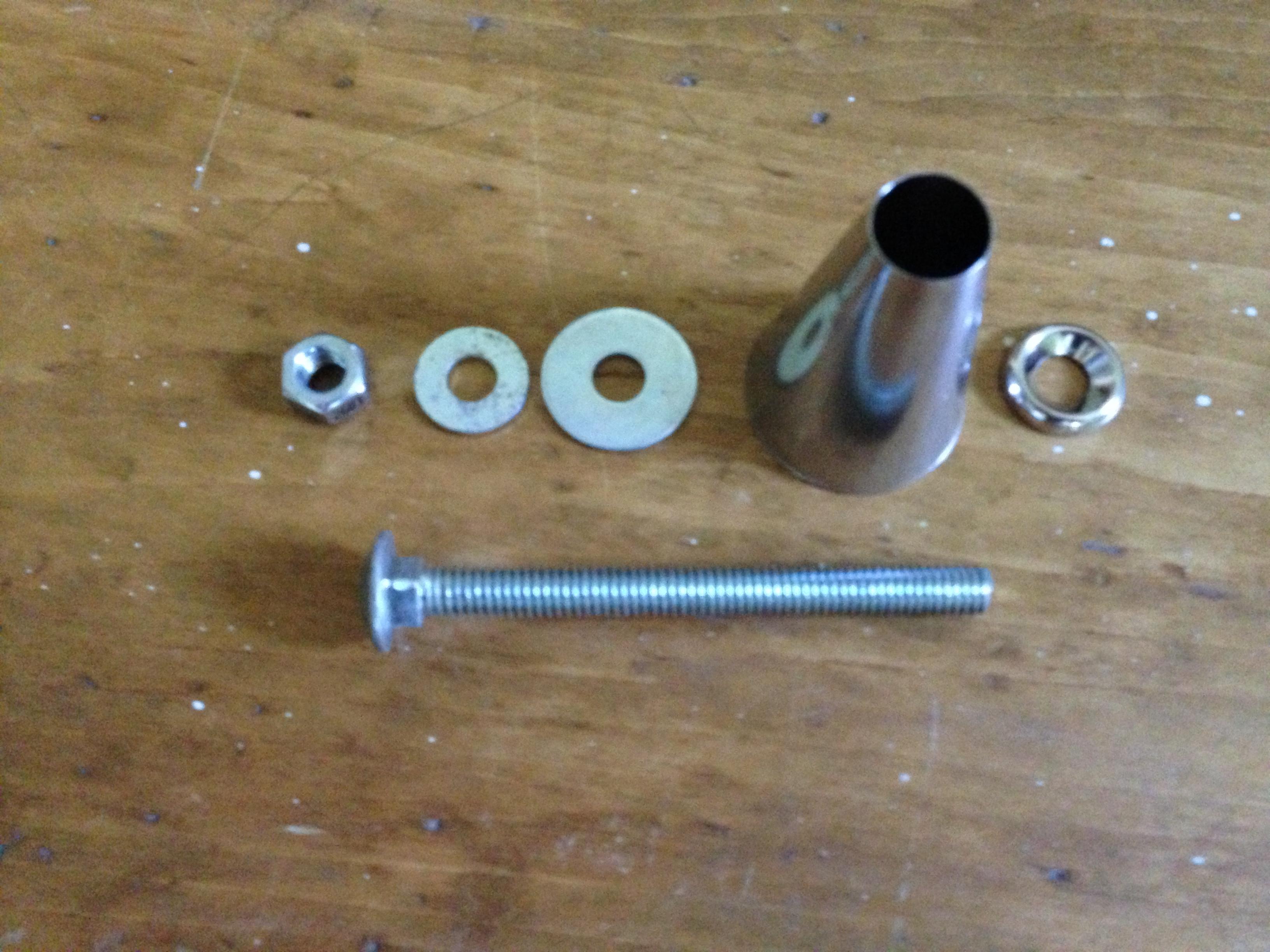 Pipe Centering Jig - Used for custom bike frame building jig