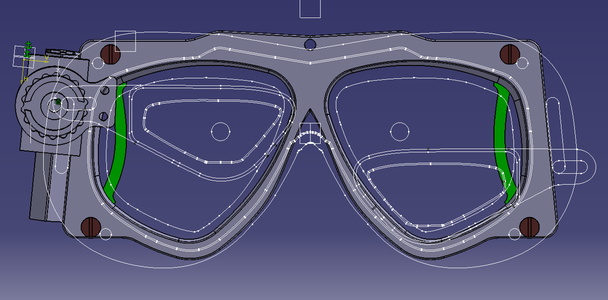 Creating the 3D Model of the Mask Frame