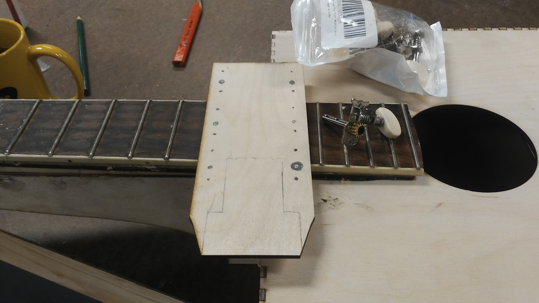 Head Stock and Neck