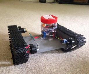 3D Printed RC Tank