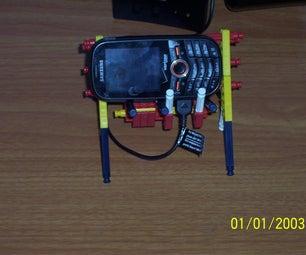 Knex Cell Phone Holder
