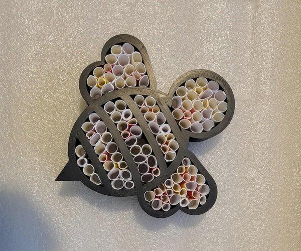 再生材料蜜蜂酒店