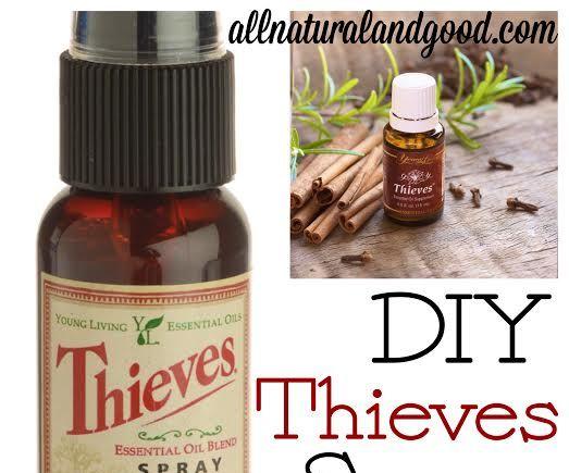 DIY Thieves Spray