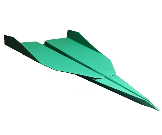 How to Make a Paper Airplane Jet That Flies Far | Grey 2