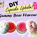 DIY Cupcake Lip Balm! Gummy Bear Flavoured!