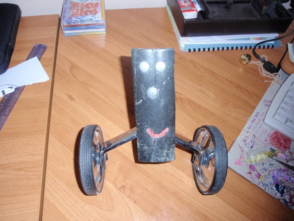 Awesome Training Wheel Re-use