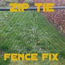 Zip Tie Fence Fix