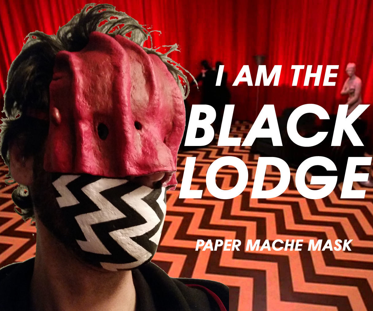 Twin Peaks Black Lodge Mask