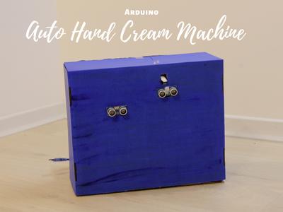 Automatic Hand Cream Machine