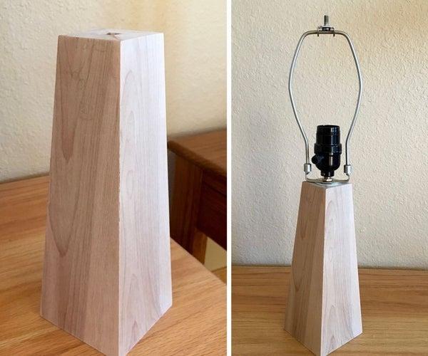 Obelisk Table Lamp Base