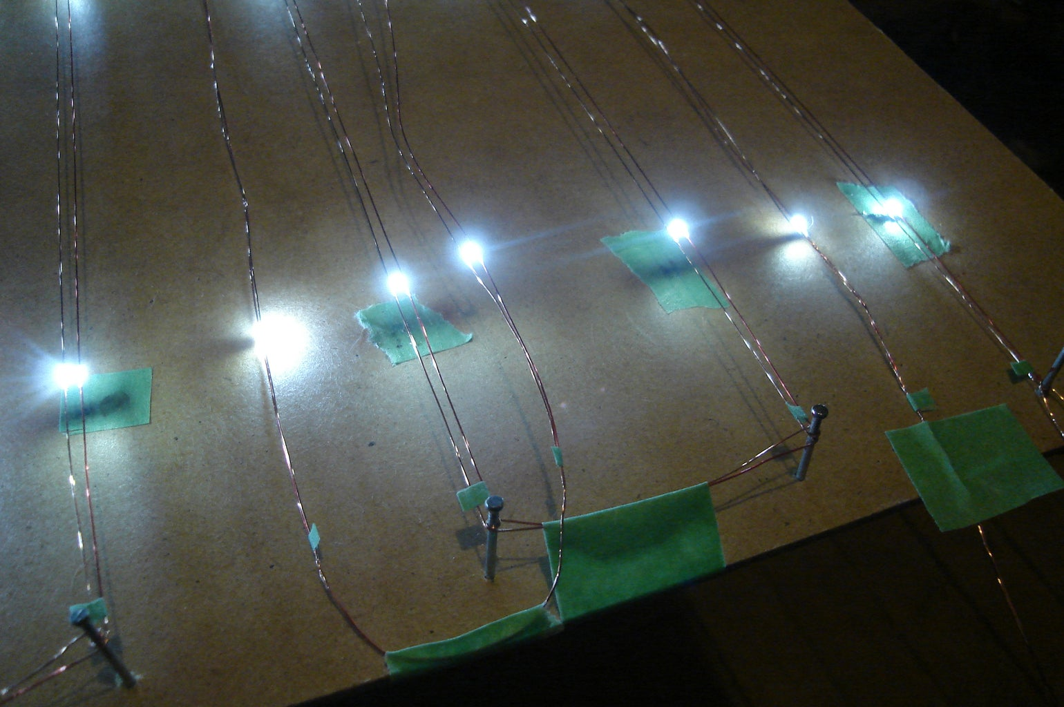 Solder the LEDs Onto the Wires