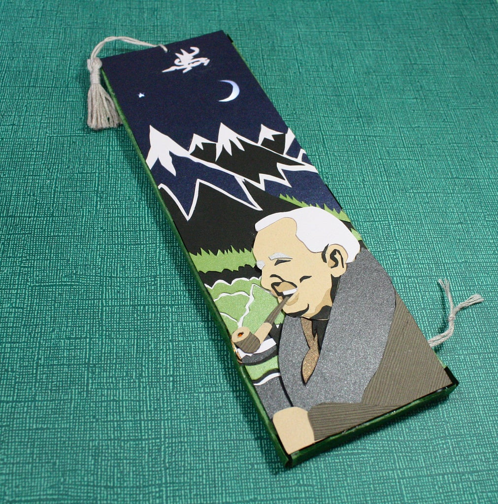 Chibitronics Papercut Hobbit Bookmark