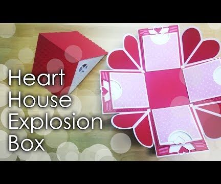 Heart House Explosion Box