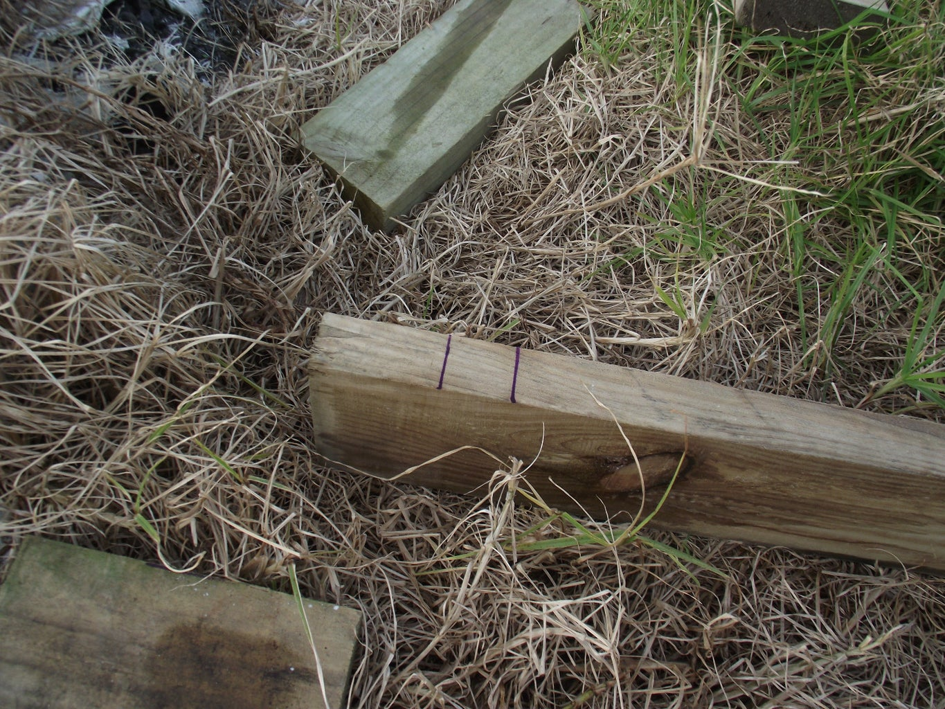 Notching the Timbers