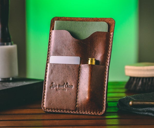 Every Day Carry Leather Organizer