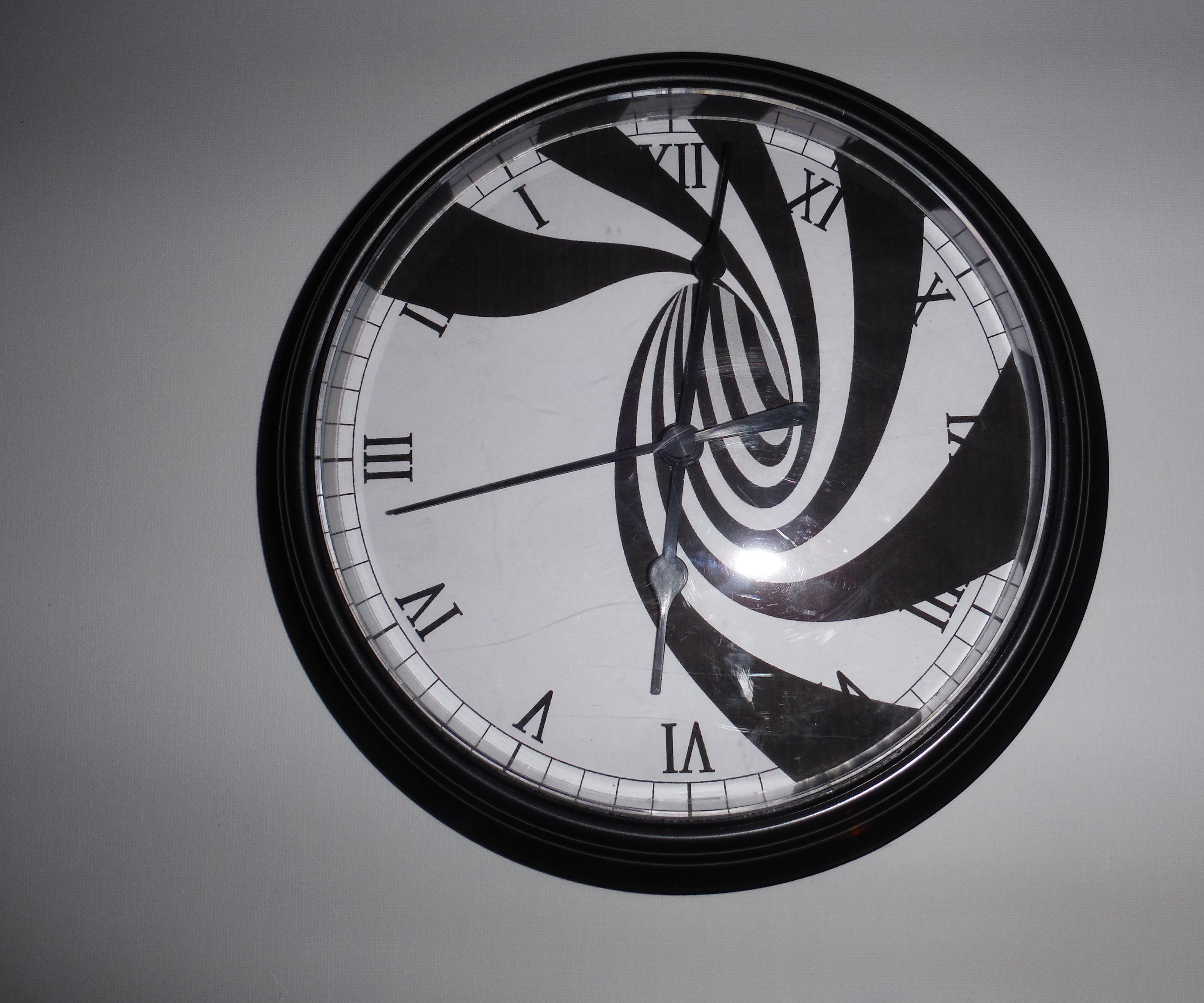 Making Time Run Backwards, The Reverse Clock