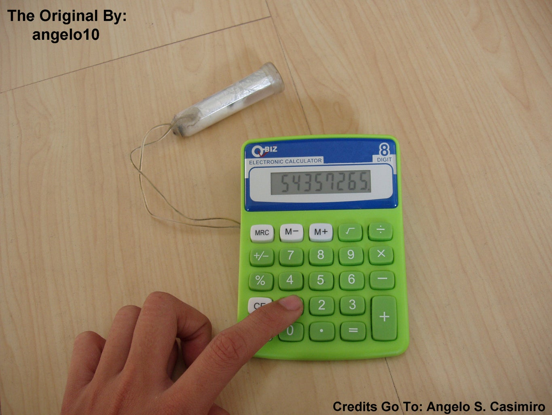 Water Powered Calculator (Original)