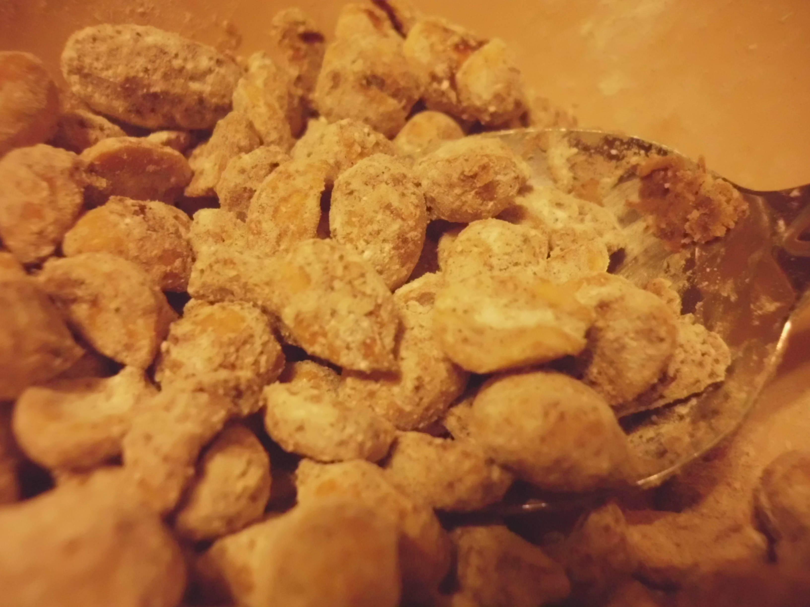 Cinnamon Toasted Peanuts