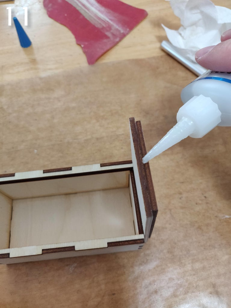 Gluing and Final Assembly