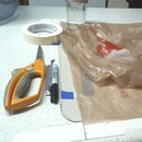Straight Plastic Bag Ribbon