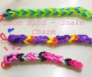 Loom Band - Snake Charm (6 Easy Steps!)